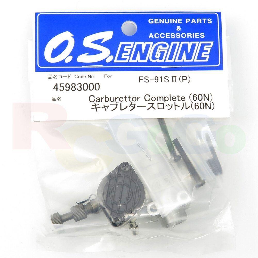 Vergaser komplett 60n fs-91sii-p   os45983000   o.s. triebwerke ersatzteile,