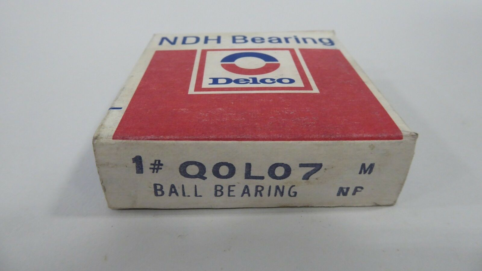 New Departure NDH Q0L07 Ball Bearing Delco