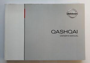 genuine nissan qashqai handbook owners manual guide 2013 2017 ebay rh ebay co uk nissan qashqai 2 2013 user manual pdf nissan qashqai 2013 owners manual pdf
