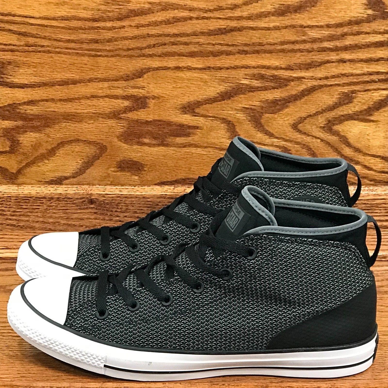 Converse Converse Converse CTAS Syde Street Mid Thunder nero bianca scarpe Dimensione Uomo 12 donna 14 7f7689