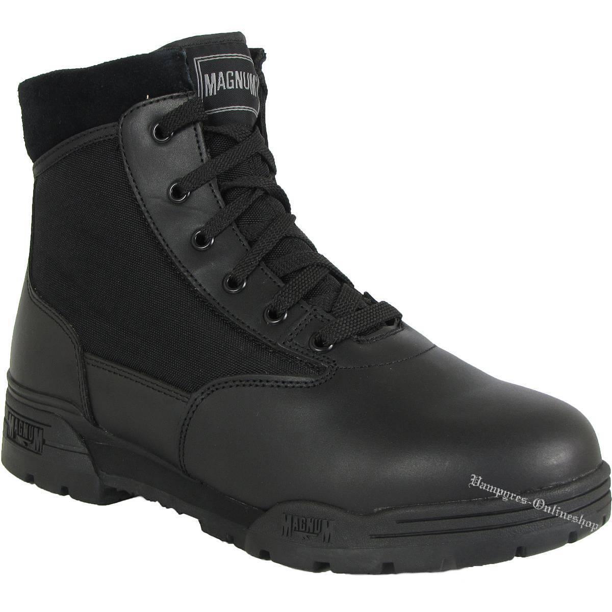 Magnum mid Hi-Tec botas negro botas Classic Security zapatos HITEC uniforme