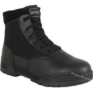 Magnum Mid Hi Tec Boots Schwarz Stiefel Classic Security Schuhe HiTec Uniform