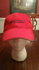 165 Meters Marmore Falls Umbria Italy Ball Cap in Red One Size New