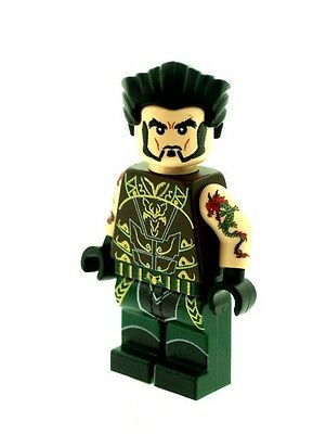 Custom Designed Minifigure Talia Al Ghul Printed On LEGO Parts