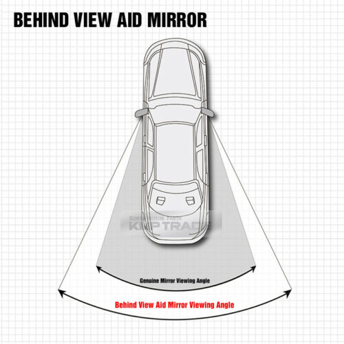 Carnival Wide Angle Rear View Blind Spot Side Mirror for KIA 2015 16 17 Sedona