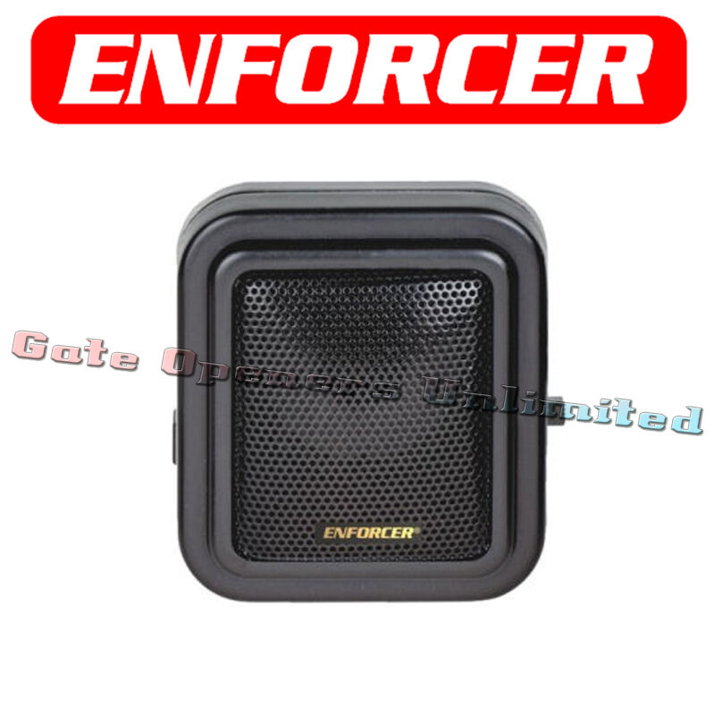 Seco-larm Enforcer E-931ACC-SQ Extra No Wireless Speaker Replace Driveway Sensor