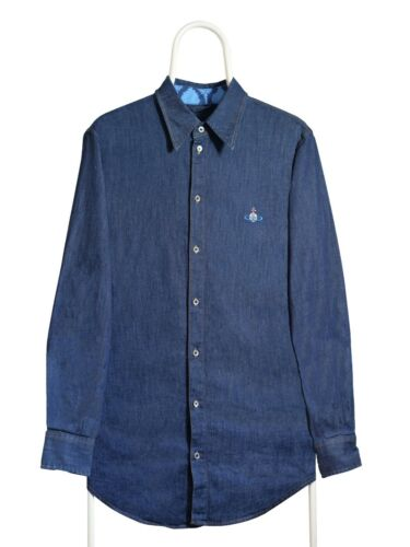 Vivienne Westwood anglomania denim men's shirt
