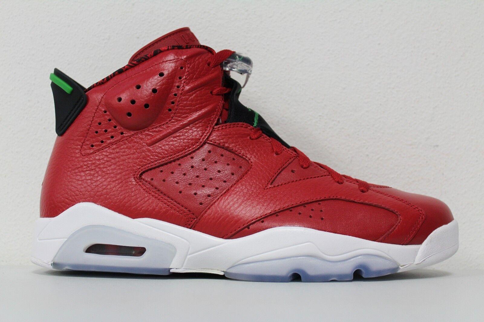 Nike Mens Air Jordan 6 Retro Size 11 Spizike Varsity Red Green VI 694091 625