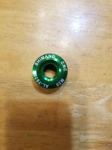Shimano M20 Crankset Crankarm Fixing Bolt Ano Green AL-7075 Aluminum