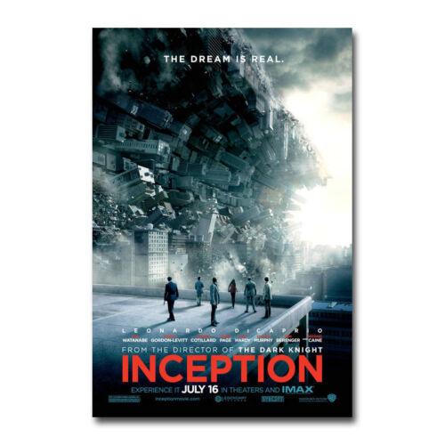 Inception Movie Art Silk Canvas Poster 13x20 24x36 inch