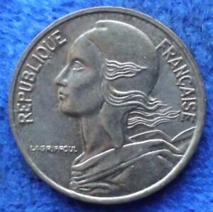 FRANCE-5-centimes-1998-KM-933-Fifth-Republic-Franc-Coinage-Edelweiss-Coins
