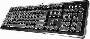 Azio Retro - USB Mechanical Keyboard Blue Switch