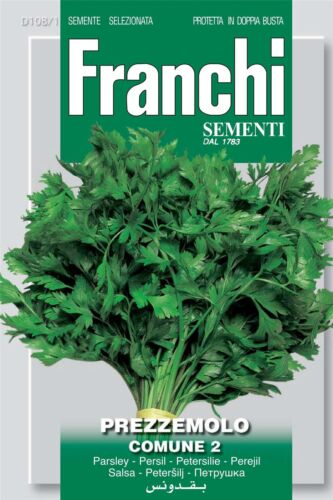 Comune 2 Franchi Seeds of Italy Parsley Seeds