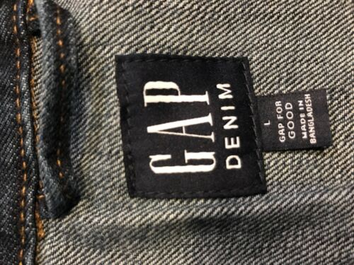 Denim Vask Nwt Medium Jakke Sz L Xl Gap Dame qHTHzv
