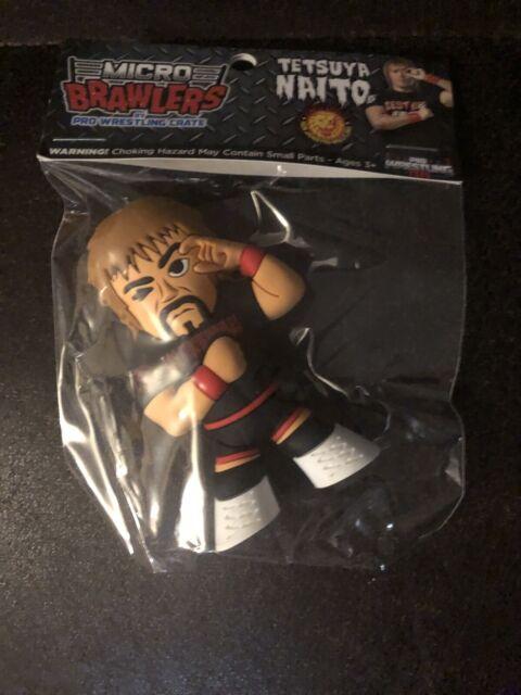 Tetsuya Naito Micro Brawlers Pro Wrestling Crate Exclusive Figure NJPW LIJ ROH