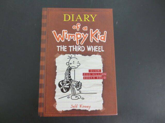 Diary Of A Wimpy Kid Ser The Third Wheel Diary Of A Wimpy Kid 7 By Jeff Kinney 2012 Hardcover For Sale Online Ebay