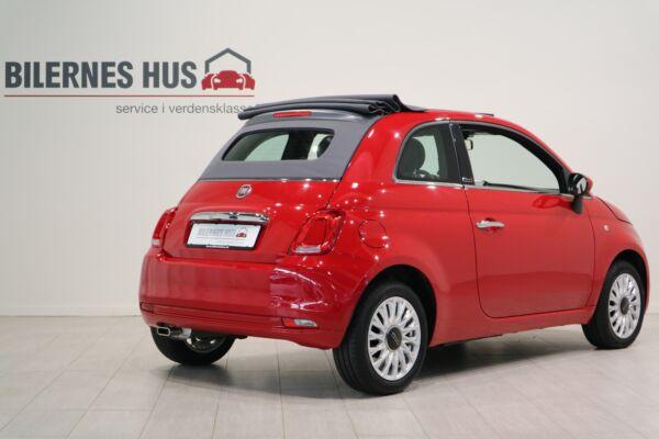 Fiat 500C 1,2 Lounge - billede 1