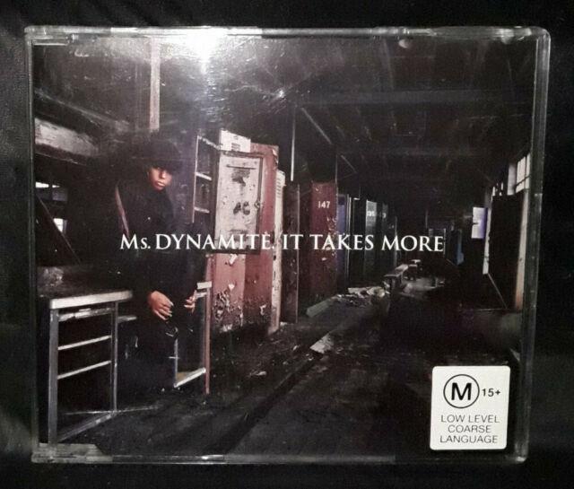 Ms. Dynamite - It Takes More (CD) Australia