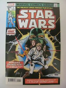 Star-Wars-1-Marvel-2019-Facsimile-Edition-Direct-1977-Reprint-9-6-Near-Mint