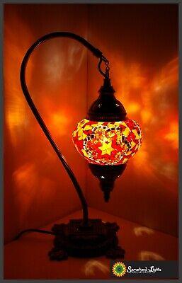 Mosaiklampe M orientalische Lampe türkische Stehlampe Samarkand-Lights Orange