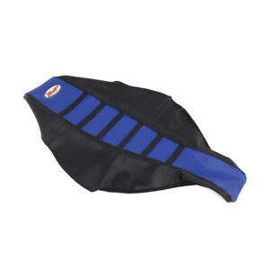 New-Pro-Blue-Rib-Ribbed-Gripper-Soft-Seat-Cover-For-Yamaha-YZ125-YZ250-1996-2001