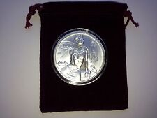 Cleopatra 2 Oz Ultra High Relief Round Fine Silver .999