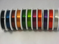 26 GAUGE COPPER COLORED CRAFT WIRE BEAD WRAP JEWELRY