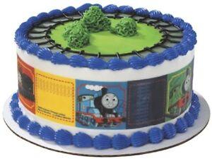 Thomas Train Edible Cake Topper Party Supplies Strip Decoration Tank