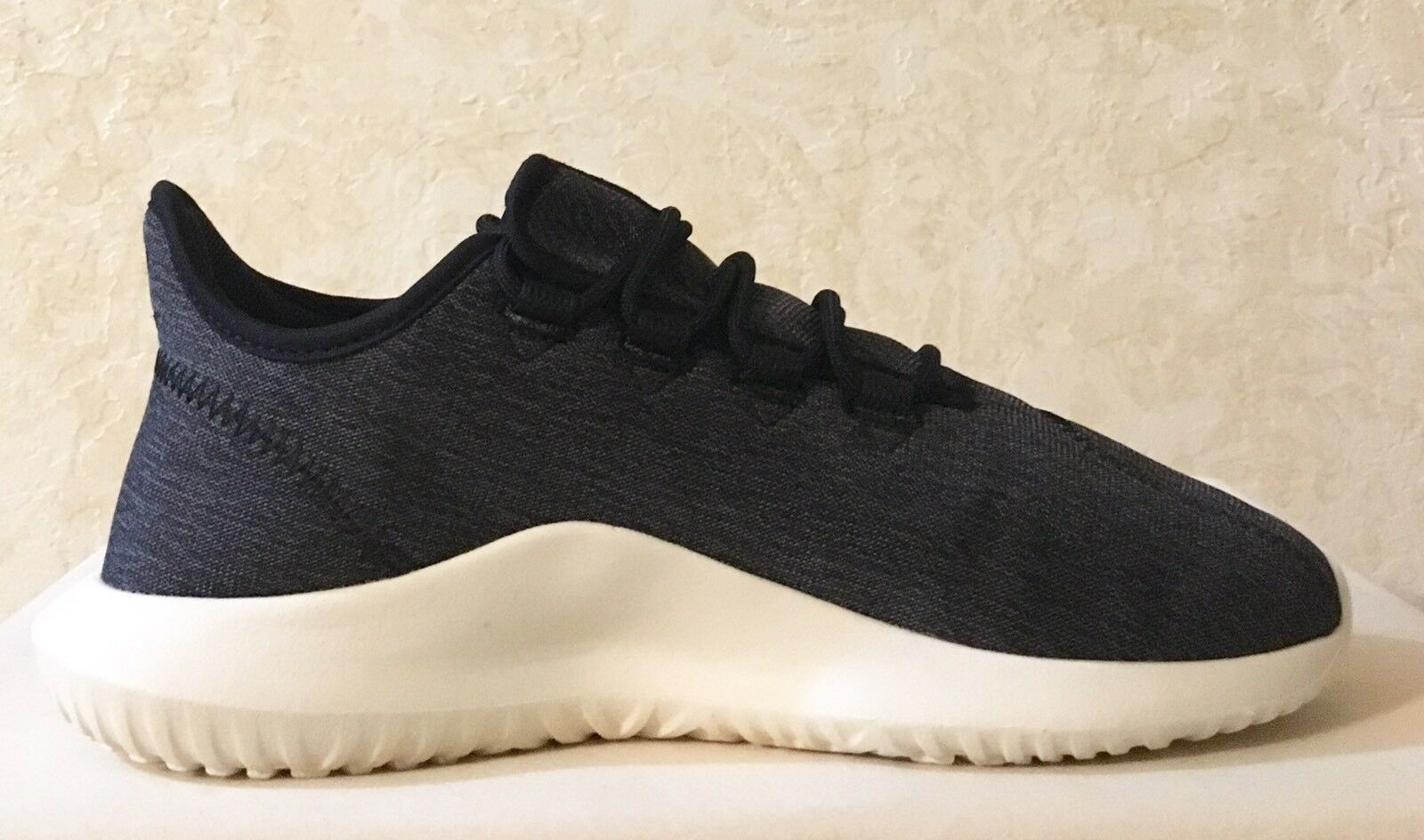 Women Adidas Tubular Shadow Lace Up Sneaker  CQ2460 Core Black Comfortable