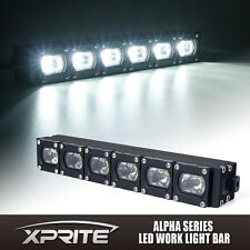Xprite 10 Inch 30W CREE C7 Alpha LED Off Road HD Light Bar Spot & Flood Combo