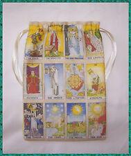 Major Arcana Tarot Card BAG, ideale per Fata Angel & wicca Tarot cards