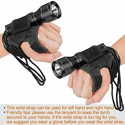 ORCATORCH Upgraded Version D550 Dive Light 1000 Lumens Scuba Safety Torch XM-L2