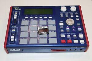 HAS ISSUES Akai MPC1000 MPC Sampler Sequencer Drum Machine MPC 1000