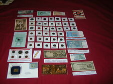 ~ONE DAY AUCTION ONLY!!!  Coins, Currency Gold, Silver Collectibles
