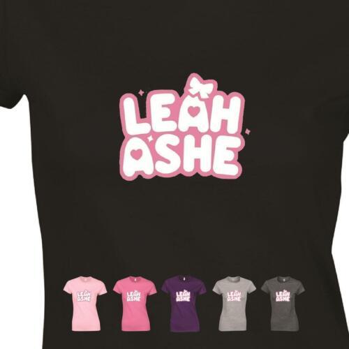 Leah Ashe Senhoras engraçado T-shirt Jogos youtuber roblox teetop Presente De Aniversário