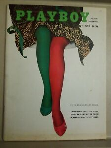 Playboy-December-1958-GOOD-CONDITION-Free-Shipping-USA