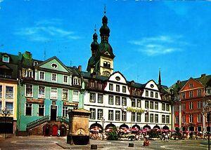 Koblenz am Rhein, Am Plan , Ansichtskarte, 1986gelaufen - Schwerin, Deutschland - Koblenz am Rhein, Am Plan , Ansichtskarte, 1986gelaufen - Schwerin, Deutschland