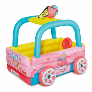 Summer-Vagues-ICE-CREAM-TRUCK-gonflable-Kiddie-amp-Bebe-Piscine-amp-Play-Center