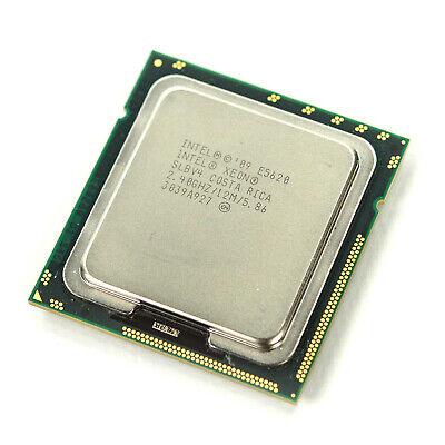 Intel Xeon SLBV4 E5620 Quad Core 2.40 GHz 12M Cache 5.86GT//s CPU Processor