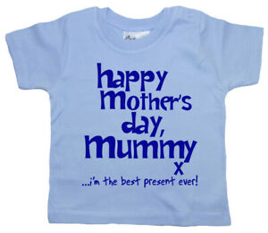 Dirty-Fingers-Happy-Mother-039-s-Day-Mummy-x-Baby-Boy-T-shirt