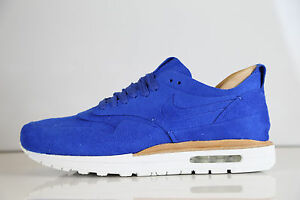 2c182b74794e Nike Air Max 1 Royal Suede Game Royal 847671-441 8-13 vachetta tan ...