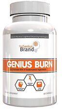 Genius Burn - 2-In-1 Focus Enhancing Thermogenic Fat Burner, Caffeine Free   sm