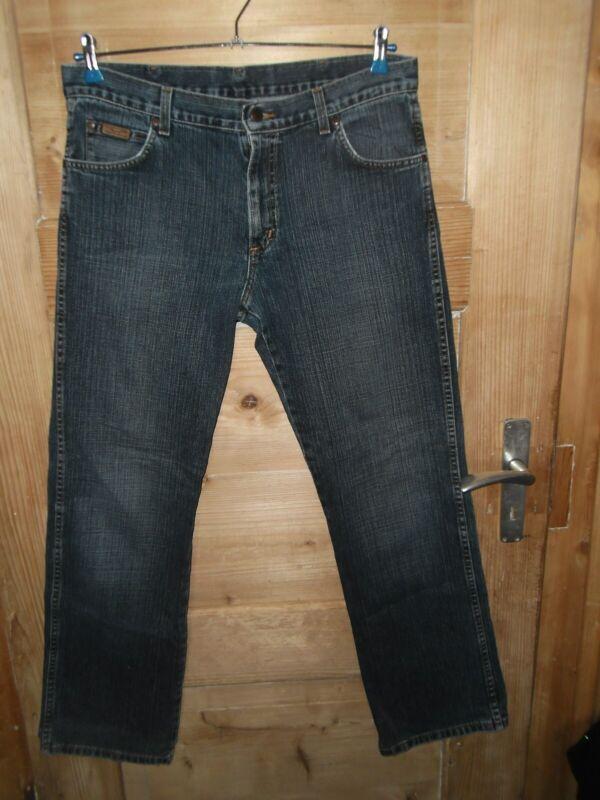 Herren Vintage 90er Jahre Jeans/hose Gr. W34/l34 *** Wrangler *** Blau Top Zust.