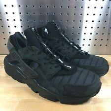 low priced 58d93 2aa1e item 3 New Mens Nike AIR HUARACHE RUN QS NYC City TRIPLE BLACK Shoes AJ5578-001  SZ 13 -New Mens Nike AIR HUARACHE RUN QS NYC City TRIPLE BLACK Shoes ...