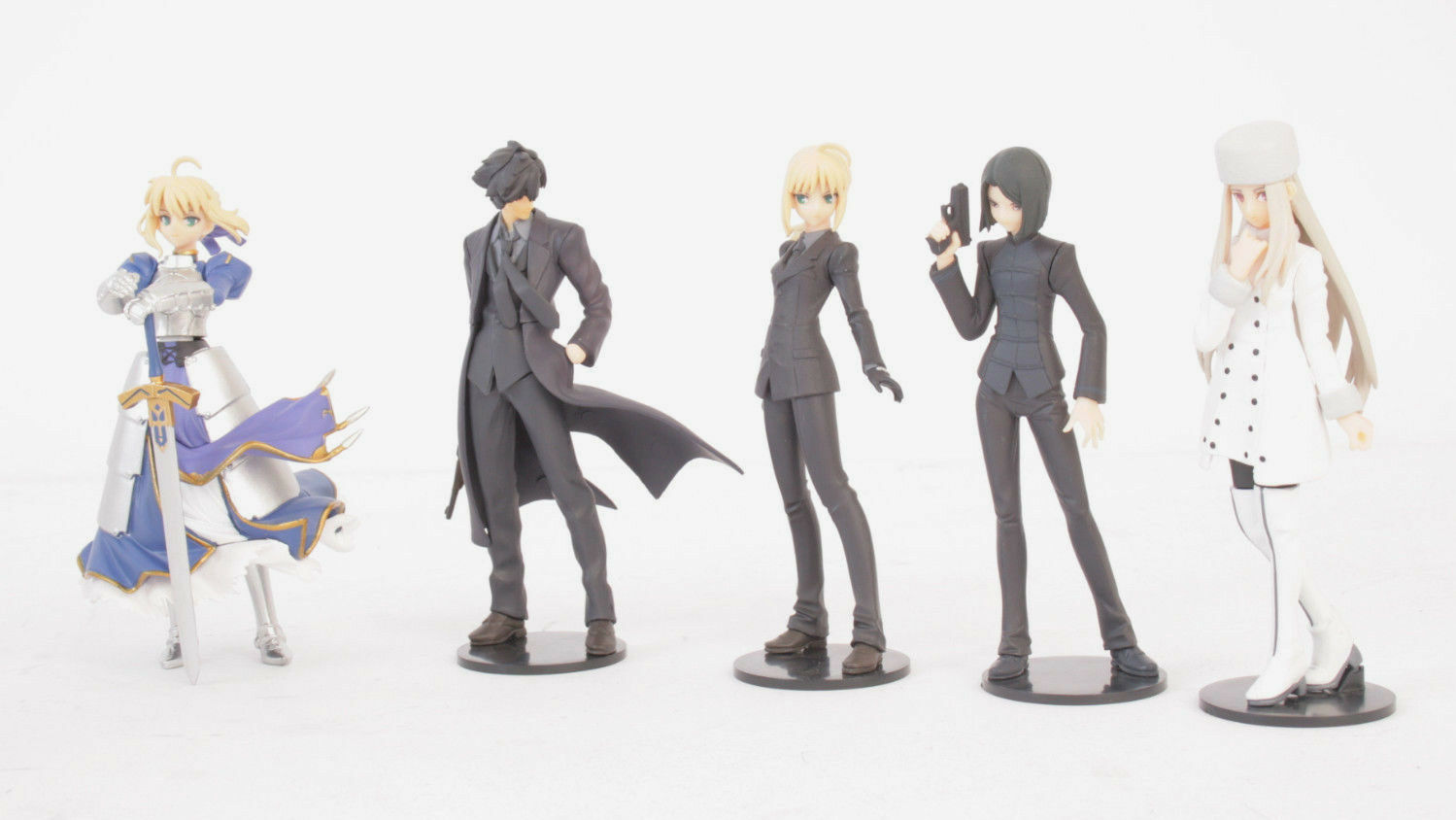 Lot de 20 figurines FATE/ZERO Capsule Q Fraulein Kaiyodo Q-Kyoku figures