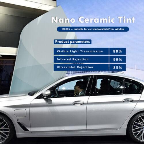 VLT80/% Light Blue Car Window Film 99/%UV Heat Control Car Sunshade Film car foils
