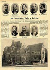 Die Buchhändler-Messe in Leipzig Historical Memorabilia von 1900