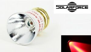 New-SolarForce-LC-R-CREE-P4-Red-Led-Bulb-Flashlight-for-UltraFire-Surefire