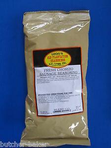 Image is loading FRESH-Chorizo-Seasoning-for-homemade-sausage-Add-25-