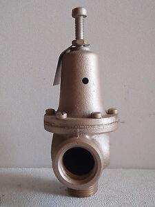 bp130 watts 1 pressure reducing regulator valve ebay. Black Bedroom Furniture Sets. Home Design Ideas